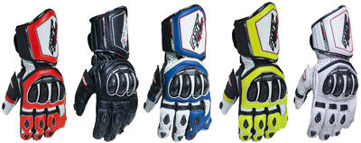 RST Mens TracTech EVO III Race CE Approved Leather Gloves