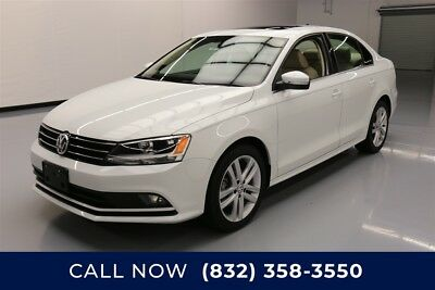 Volkswagen Jetta 2.0L TDI SEL Texas Direct Auto 2015 2.0L TDI SEL Used Turbo 2L I4 16V Automatic FWD Sedan