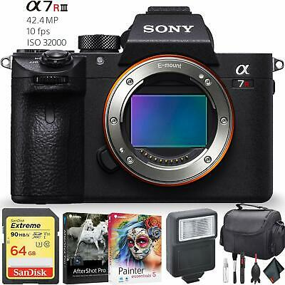Sony Alpha a7R III Mirrorless Digital Camera (Body Only) Accessory Combo