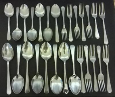 27 x Vintage Firth Staybrite/Stainless Cutlery - Forks Spoons Table Spoons lot