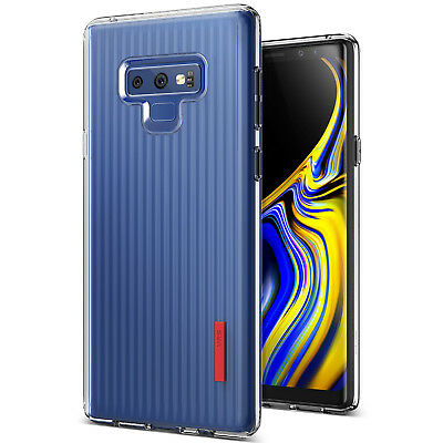 For Samsung Galaxy Note 9 Case VRS® [Crystal Fit Label] Clear Slim Light Cover
