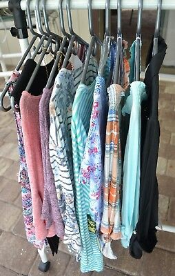 NEW Set Lot of 10 Resale Womens Tops Shirts Blouses Size Large L Consignment