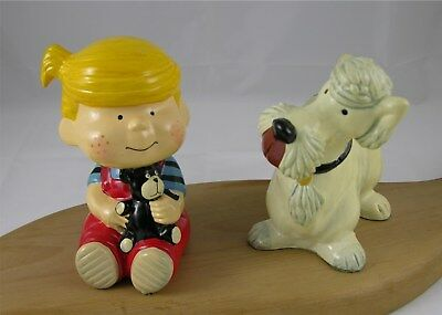 Dennis the Menace and Ruff Book Ends, Mid Seventies