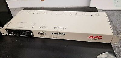 Apc Ap9211 Master Switch Pdu + Ap9606 Smart Slot Web Management Card