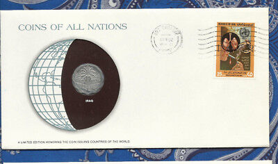 Coins of All Nations Iraq 5 Fils 1975 UNC