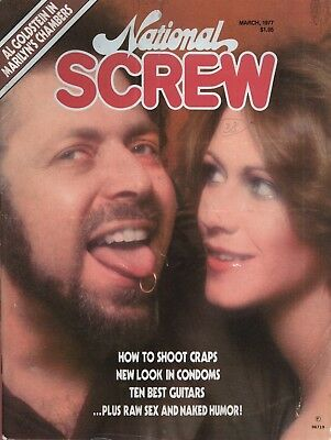 Rare US men's magazine National Screw March 1977 with Marilyn Chambers