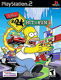 Simpsons Hit & Run (Sony PlayStation 2, 2003) FAST SHIPPING 1 GREATEST HITS PS2