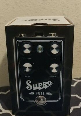 BRAND NEW Supro 1304 Germanium Fuzz Guitar Effect Pedal ! w/BOX & orig packaging