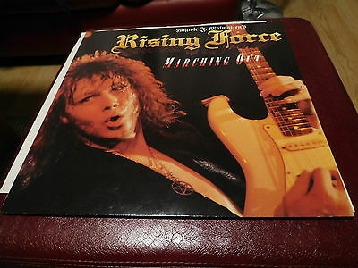 Yngwie Malmsteen - Marching Out - Germany - LP