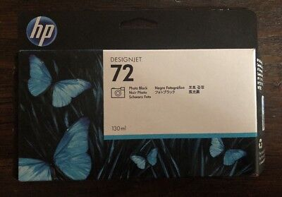 HP ~ 72 ~ Photo Black ~ Ink Cartridge ~ C9370A ~ 130ml Exp:2020