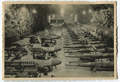German Wwii Archive Photo: Aircrafts Production
