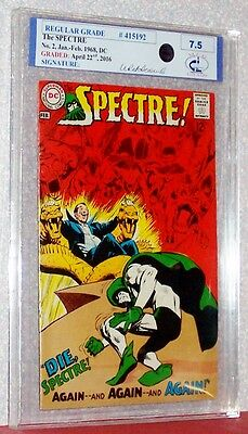 The SPECTRE #2, 1968, DC, Graded by Midwest Comic Grading @ 7.5, #415192