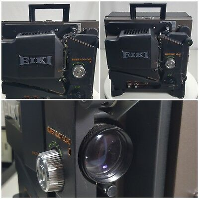 Eiki SL-O 16mm Super Slot Load Film Projector -Works