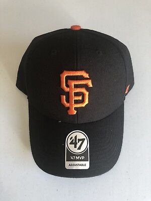 """'47 MVP San Francisco Giants Hat """"Marty Gras"""" From Marty Lurie Event 2018"""