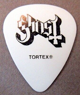 GHOST FIRE Formerly ALPHA Tour Guitar Pick WHITE