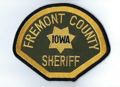 Fremont County IA Iowa Sheriff patch - NEW!