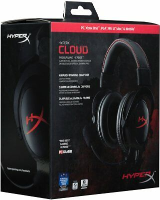 HyperX Cloud Gaming Headset for PC, Xbox One¹, PS4, Nintendo Switch