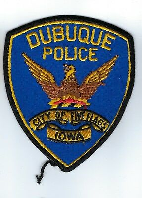 Dubuque (Dubuque County) IA Iowa Police patch - NEW!