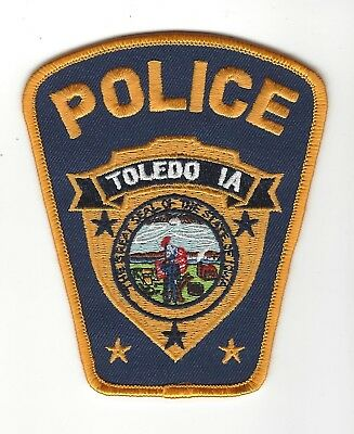 Toledo (Tama County) IA Iowa Police patch - NEW!