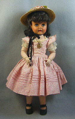 Madame Alexander 1952/53 Hard Plastic Madeline w/multiple joints, All Original
