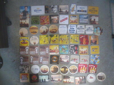 64 different  SOL,CORONA ETC.Brewery, Australian Issued  BEER COASTERS