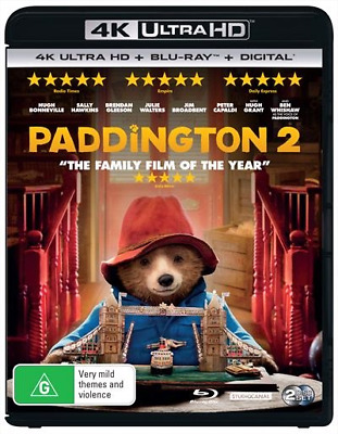 Paddington 2 : NEW (4K Ultra HD - UHD) Blu-Ray