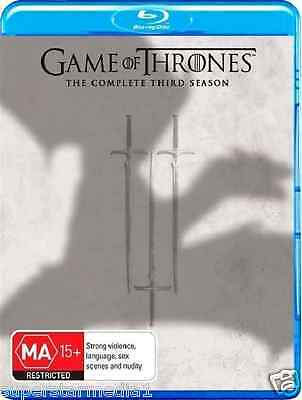 Game Of Thrones Season 3 : NEW Blu-Ray {Region 4 - Australian Official Releas