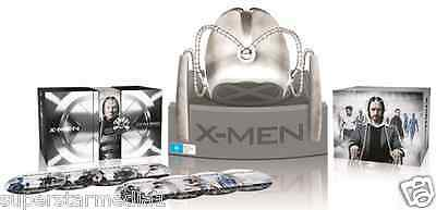 X-Men Complete 7 Movie Collection + Cerebro Helmet : NEW Blu-Ray limited-edition