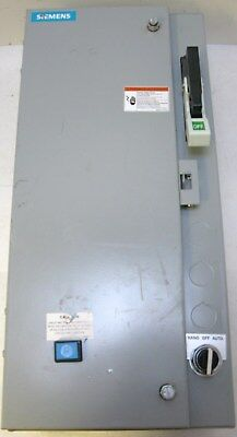 Siemens combination starter 17CUC92BNF11 size 0 fusible