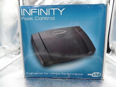 In-Usb-2 Infinity Foot Control In-Usb-2 Transcription Pedal