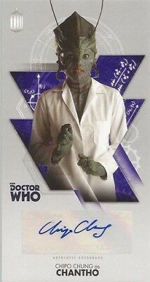 2016 Topps Dr Who The Tenth Doctor Adventures Chipo Chung Autograph Auto Card