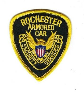"""Rochester Armored Car Security Services in Omaha NE Nebraska 3"""" patch - NEW!"""