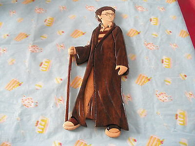 Harry Potter Wooden Wall Hanging AS NEW