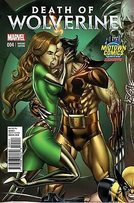 Death Of Wolverine #4 B Midtown Exclusive J Scott Campbell Variant VF+/NM+