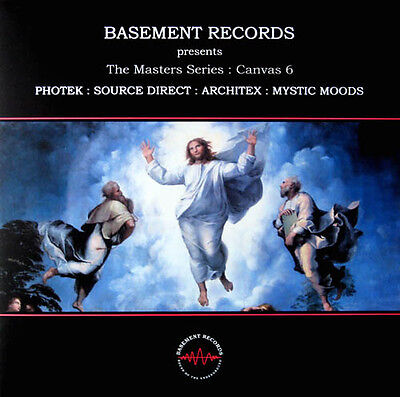 """2 x 12"""" UK DRUM 'N' BASS**THE MASTERS SERIES: CANVAS 6 (BASEMENT RECORDS)**4733"""