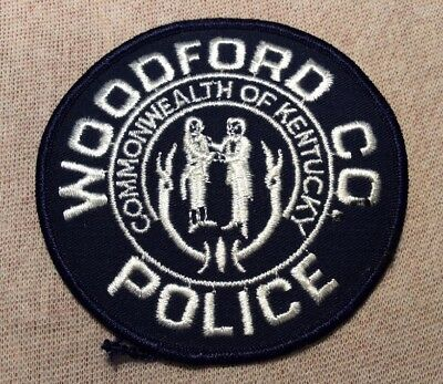 KY Woodford Kentucky Police Patch