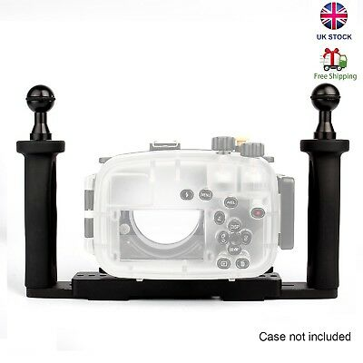 Meikon Universal Two Hands Aluminium Tray for Underwater Camera Housing Case