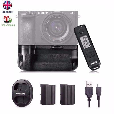 Meike MK-A6500 Pro 2.4G Remote Control Battery Grip for Sony A6500 ILCE-6500 UK