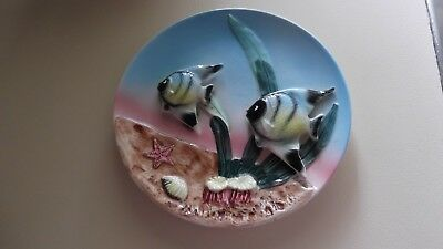 China wall plate 3D - underwater  fish scene - can p/up Gold Coast