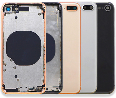 FIT For iPhone 8 8 Plus X Back Rear Glass Frame Battery Door Motherboard Housing