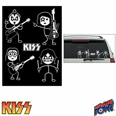 KISS Window Decals Set of 2 Sheets - SDCC Debut