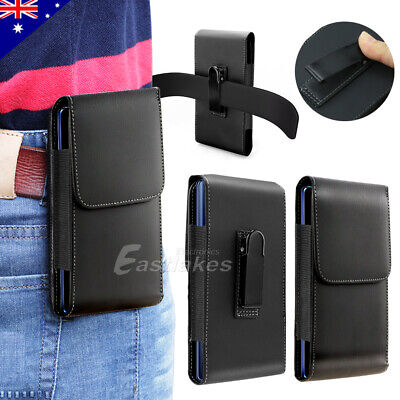 Leather Case Holster Pouch for Samsung Galaxy S20 Note 10+ 5G with Belt Clip