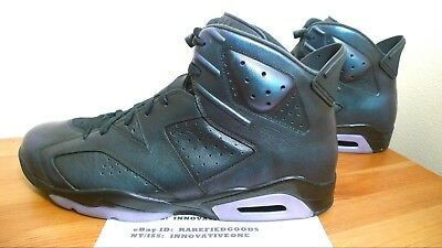 56edda2477006f Nike Air Jordan Vi 6 All Star Chameleon Black White Green Sz 18  907961 015