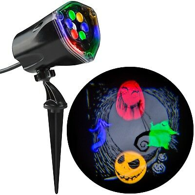 Nightmare Before Christmas Jack Skellington Projector Light Whirl A Motion