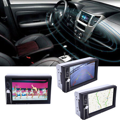 "HD 1080P 7"" 2Din Bluetooth Hands-free Car FM MP5 Player With Rear Camera"
