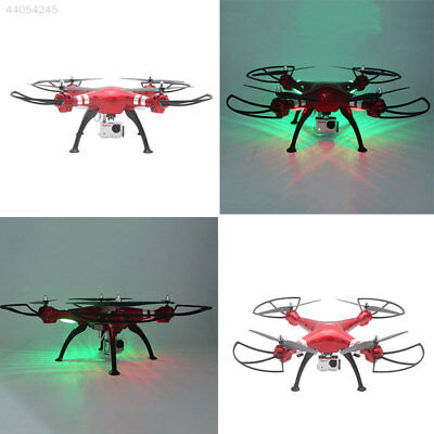 Syma X8HG 2.4Ghz 4CH RC Quadcopter Headless Mode Helicopter Drone Camera RTF Red