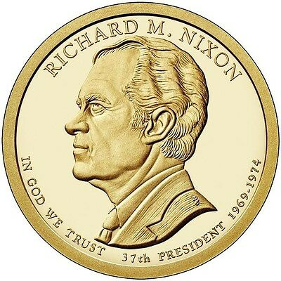2016-P $1 Richard M. Nixon Presidential Dollar coin- Uncirculated! From mint bag