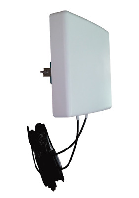 Antenne 4G LTE MIMO Directionnelle 700-2600Mhz B525 E5186 B315 2x10m Huawei Asus
