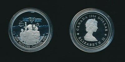 Canada: 1984 $1 Jacques Cartier Proof in Original Mint Case
