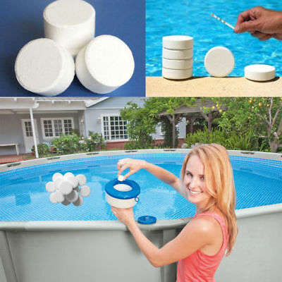 5/10Pcs 20g Multifunction CHLORINE TABLETS 5 IN 1 SWIMMING POOL HOT TUB SPA Lot